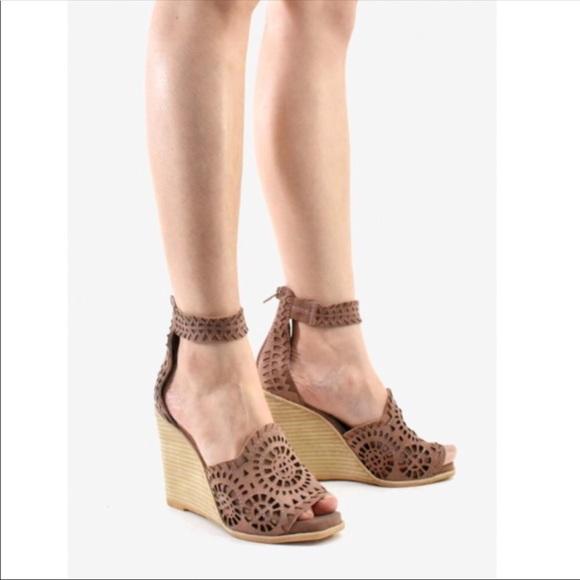 Jeffrey Campbell Del Sol Wedge Sandals